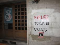 Minacce Forza Nuova a ministro Kyenge (striscione 'Torna in Congo'